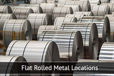 Flat Rolled Metal Locations